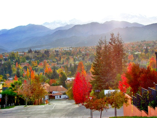 Autumn in Santiago, Chile