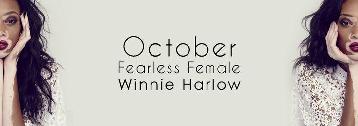 """october-fearless-female-winnie-harlow"""""""