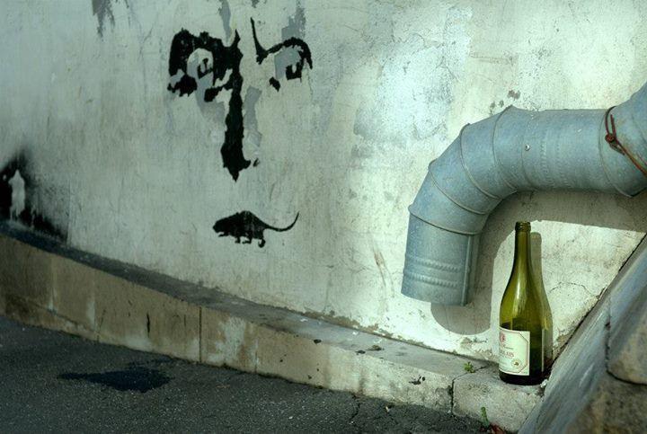 Vadim Artamonov Пустая бутылка вина как истинное произведение современного искусства.