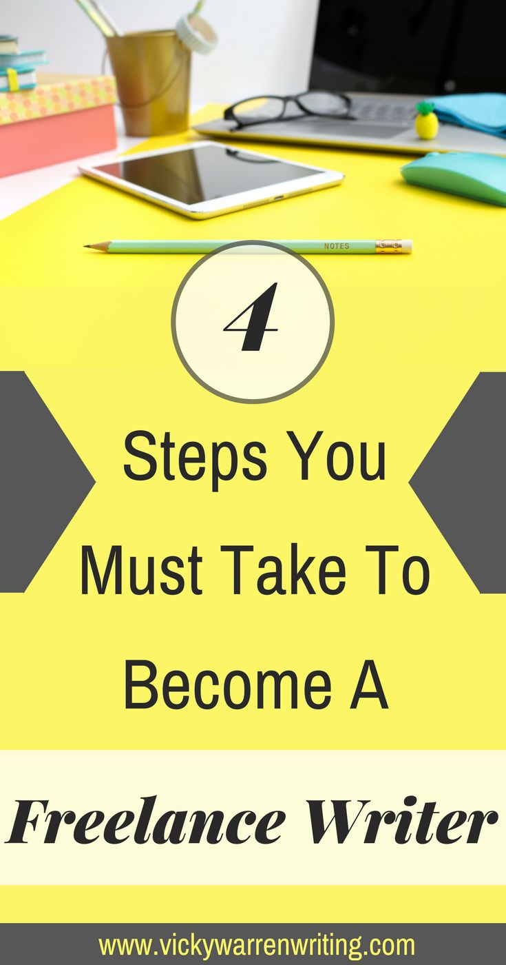 Thinking of getting into freelance writing? Read this and discover 4 actionable steps you can take today to start on that writing journey... via @https://www.pinterest.com/VickyWriting/