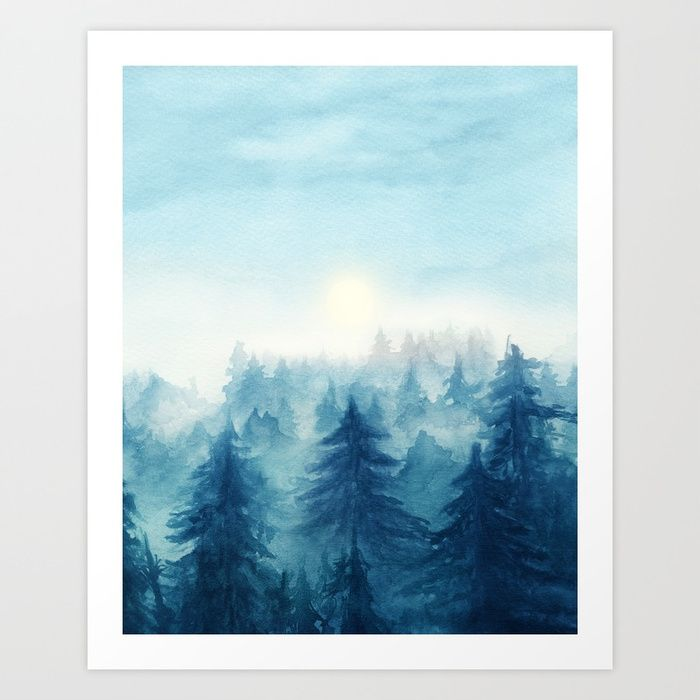Buy Into The Forest VIII Art Print by marcogonzalez. Worldwide shipping available at Society6.com. Just one of millions of high quality products available.