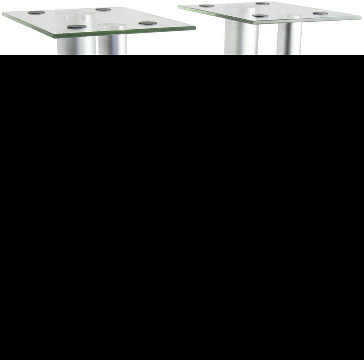 Premium Universal Floor Speaker Stands for Surround Sound & Book Shelf Speakers #VIVO