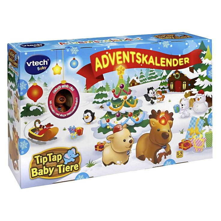 "VTech - Tip Tap Baby Tiere Adventskalender - VTech - Toys""R""Us"