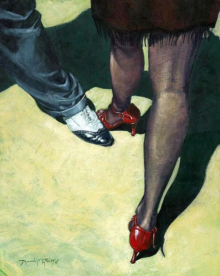 David Riley.  Tango feet.