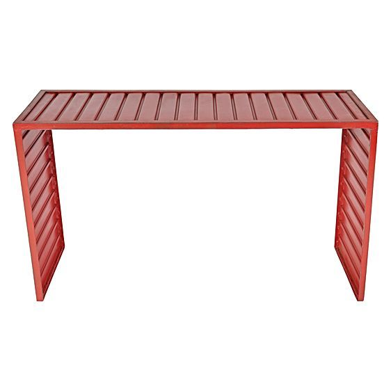 Metal Channel Console Table by Soundslike HOME