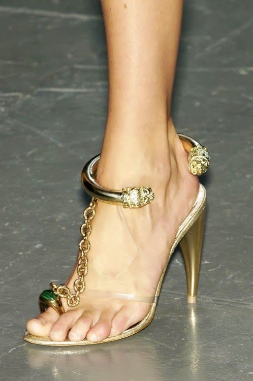 McQueen stilletos - FashionFilmsNYC.com- don't really like the heel height but I luvvvvv d creative design!!!