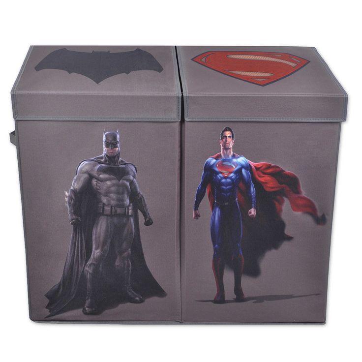 Batman vs. Superman Double Laundry Hamper