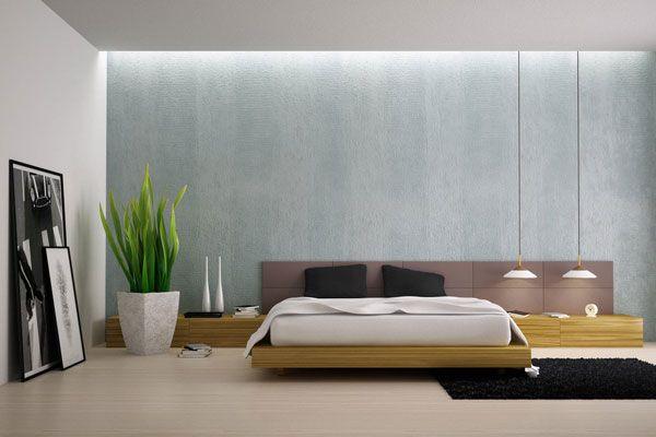 Iš aukštai kabančios lovos lempos! Siena taip pat atrodo gražiai.