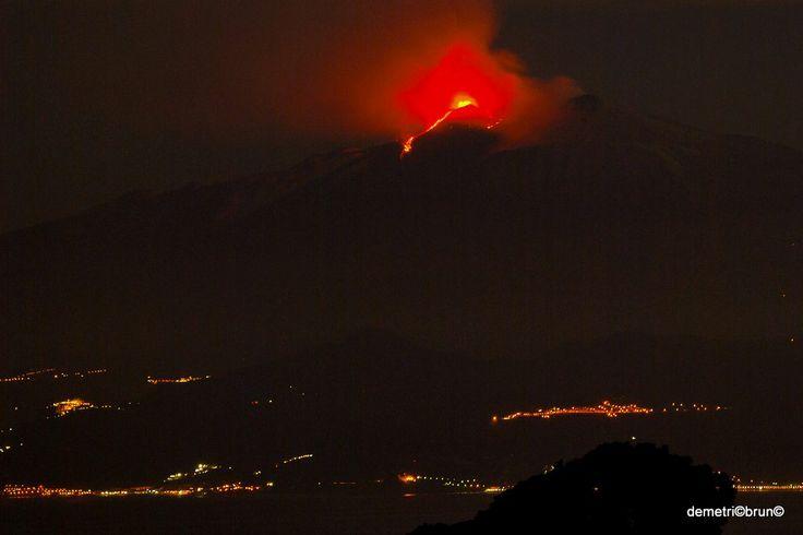 eruzione etna 17/11/2013 ore 04:30