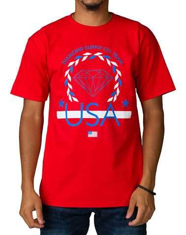 #FashionVault #diamond supply company #Men #Tops - Check this : DIAMOND SUPPLY COMPANYENS Red Clothing / Tops for $30 USD