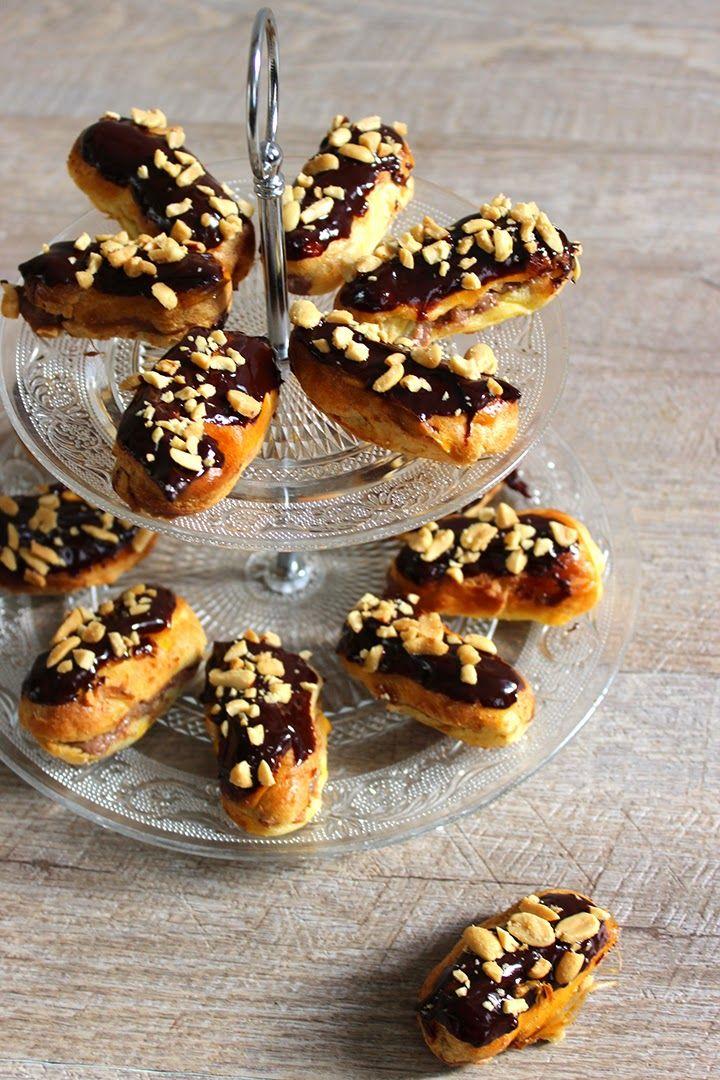 Blog Cuisine & DIY Bordeaux - Bonjour Darling - Anne-Laure: Minis Éclairs au chocolat