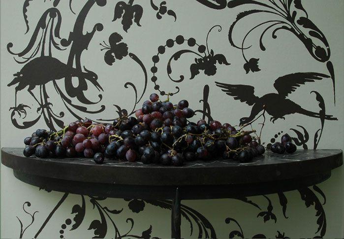 Emery & Cie, wallpaper Mechants Oiseaux