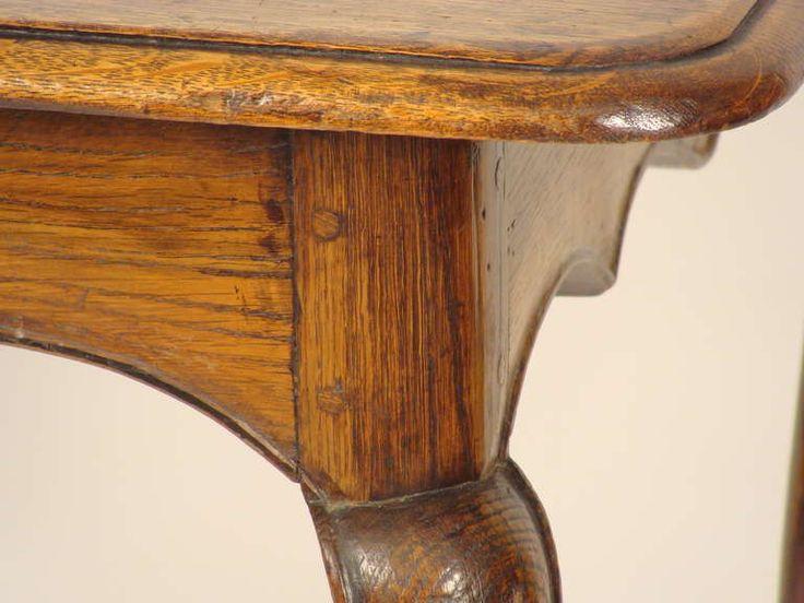 Antik fa asztal