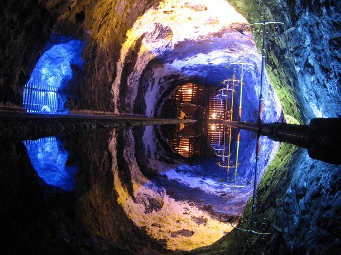 Minas de Sal de Nemocon, Cundinamarca, Colombia