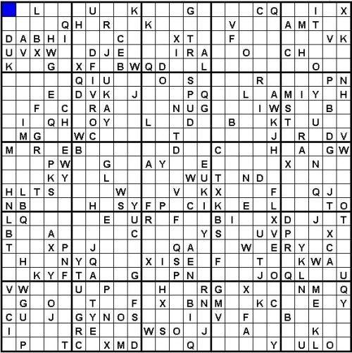 Sudoku Download   25x25 Sudoku Rätsel herunterladen