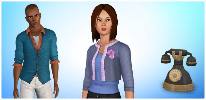The Sims 3 Generations Registration Gifts - Store - The Sims™ 3