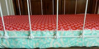 Bumperless Crib sheet tutorial