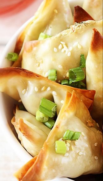Oven Baked Crab Avocado Wontons.......but I'd use real fresh dungeness!!!