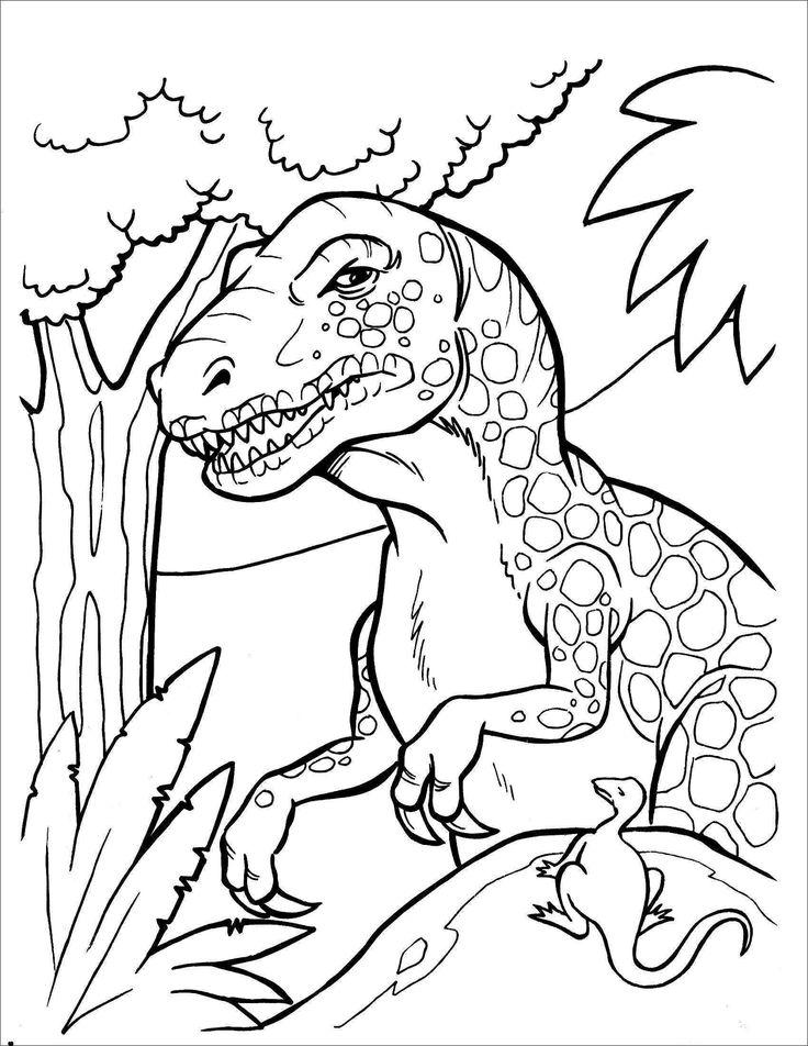 10 beste dinosaurier malvorlage auffassung 2020