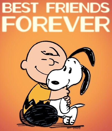Best friends forever via www.Facebook.com/Snoopy   The ...