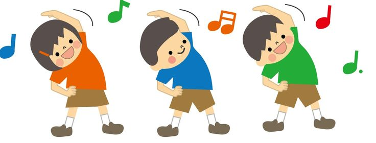 Los ejercicios matinales de Radio Taiso (calistenia)