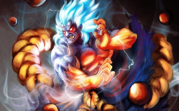 Oni Street Fighter HD Wallpaper