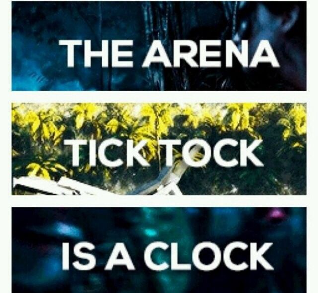 The Arena is a Clock