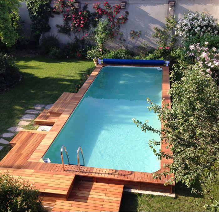 Oltre 20 migliori idee su piscine fuori terra su pinterest - Giardino con piscina fuori terra ...