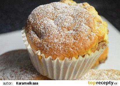 Muffinky s čokoládou recept - TopRecepty.cz