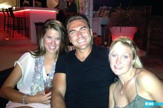 """Below Deck"" #crew Sam Orme, Aleks Taldykin, and Kat Held, enjoy some time off the boat.  #BelowDeck #BravoTV"