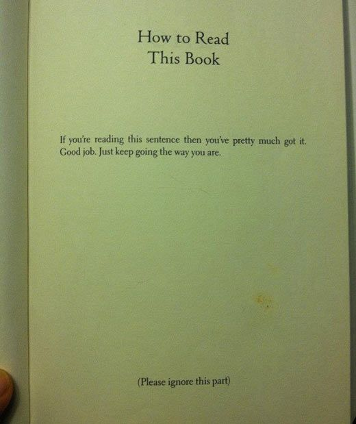 """From """"This is a Book"""" by comedian Demetri Martin (and not at all from House of Leaves like I thought it was! oops)"""