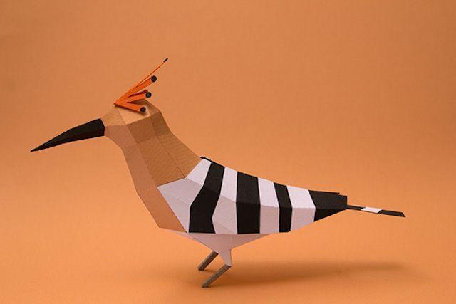 papercraft animal