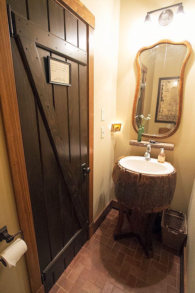 The Lake House Bathroom