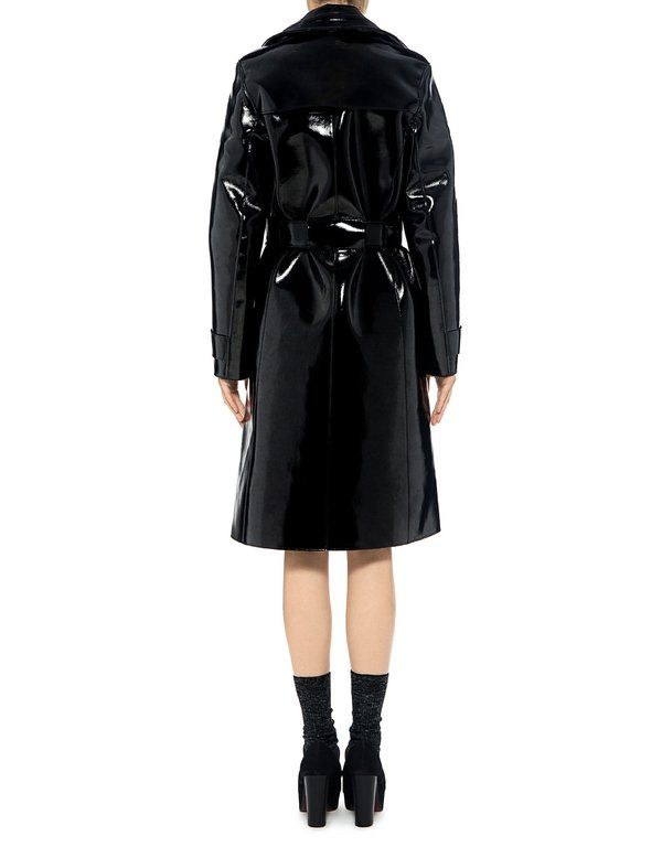 Carven: Patent Trench Coat (item view - 4)