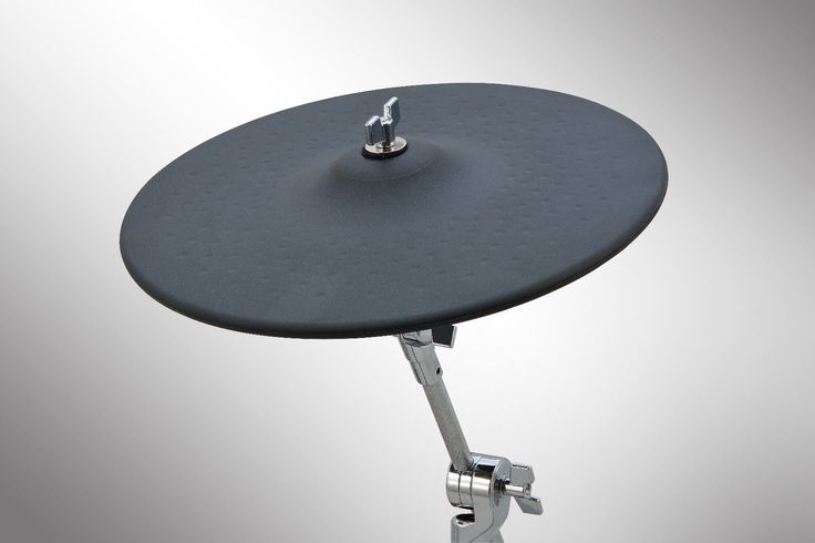 "13 inch Electronic Cymbal Pad 3 Zone 13"" eCymbal Pad with Accessories 
