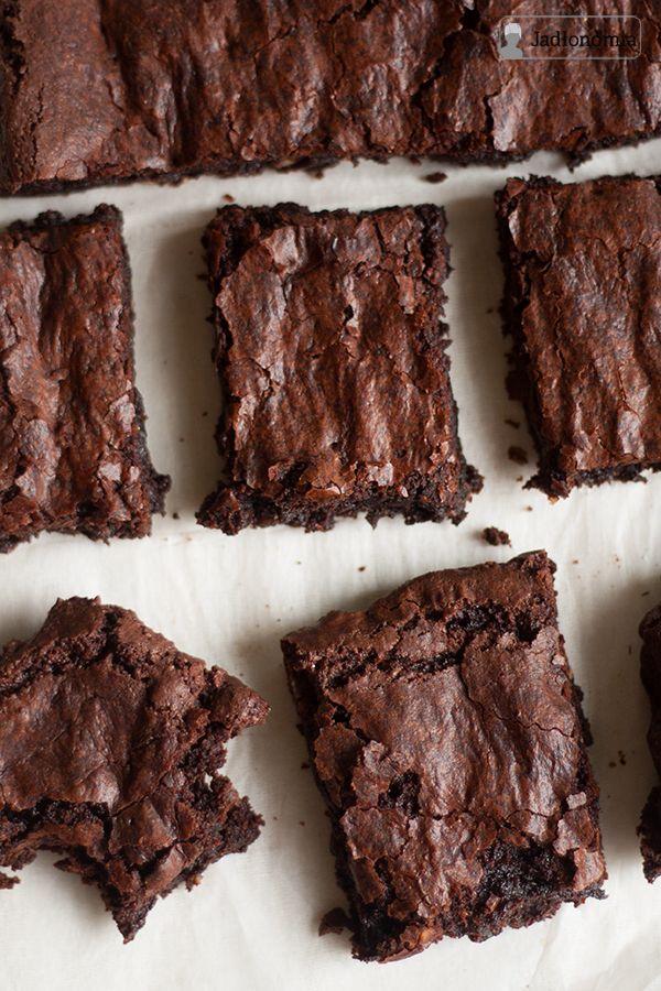 jadłonomia • roślinne przepisy: Idealne wegańskie brownie