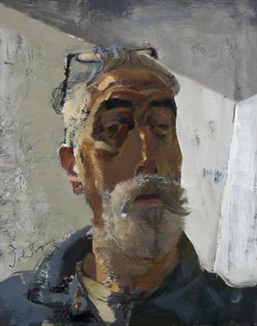 john byrne, self portrait