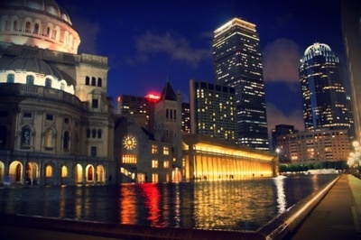 Boston: One city that I would love to explore- so much history!Reflections Pools, Christian Science, Loveboston Strong, Favorite Places, Cities Boston, Science Center, Boston Beautiful, Prudential Towers, Center Reflections