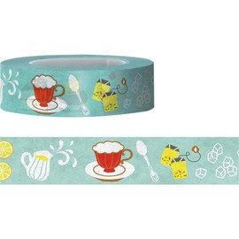 Afternoon tea Washi Fun Tape 15M by pikwahchan on Etsy, $3.10