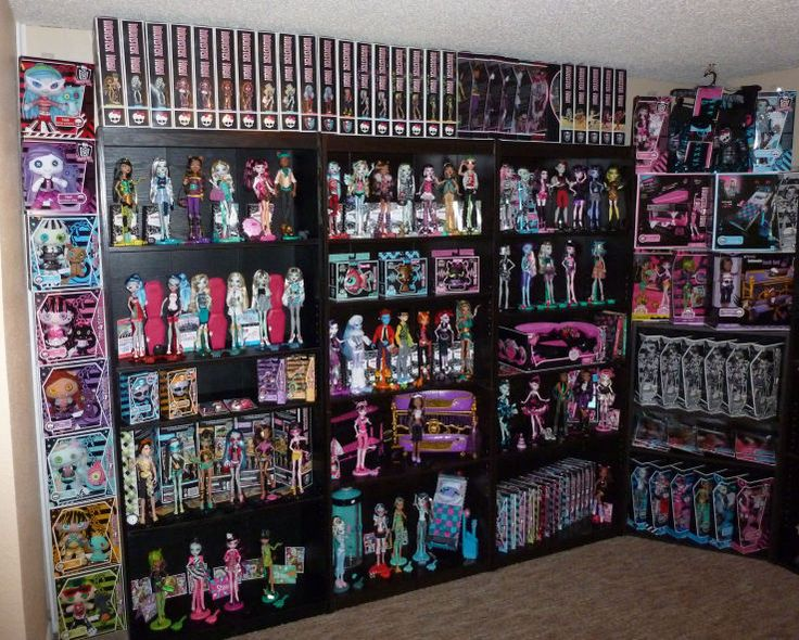 monster high dolls collection