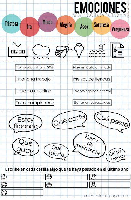 Lápiz de ELE: INSIDE OUT en clase: 4 ideas para trabajar las emociones.