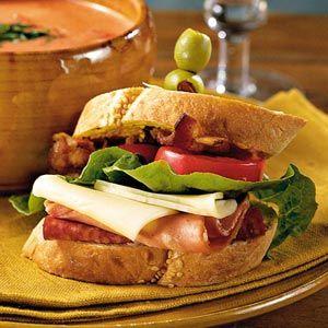 Fabulous Fall Menus  | Soup-and-Sandwich Menu | MyRecipes.com