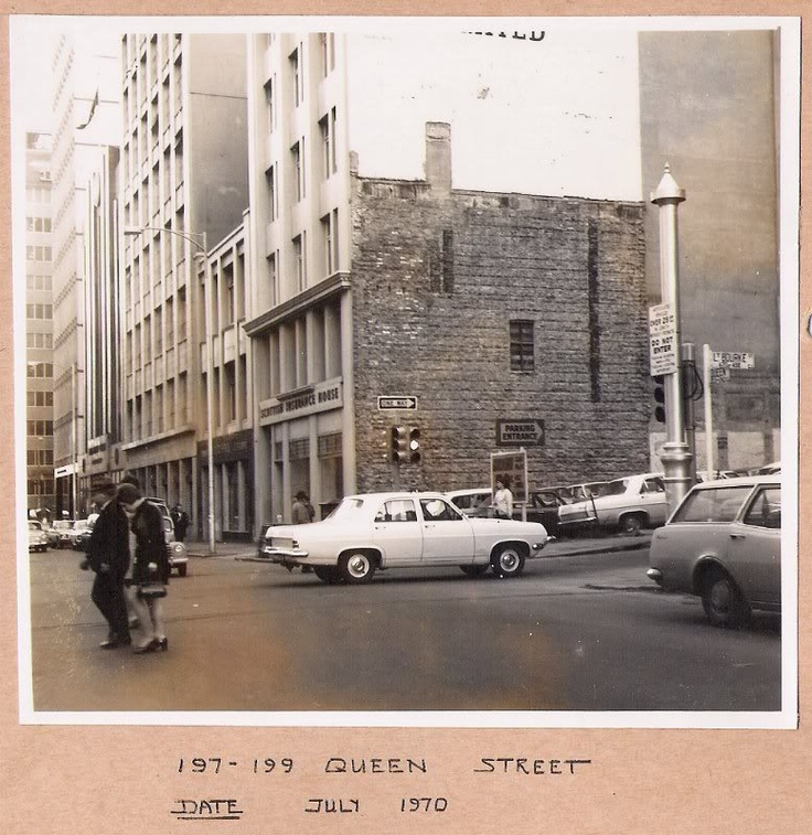Queen Street from the early 1970s