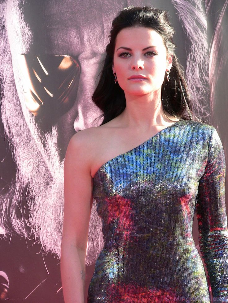 Jaimie Alexander in Ina Soltani at the 'Captain America' Premiere in Los Angeles