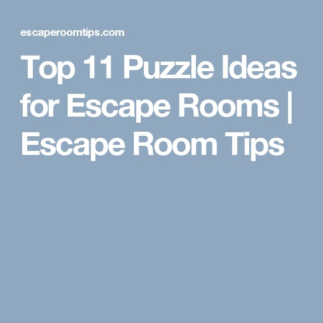 Classroom Ideas For Halloween Party ~ Top puzzle ideas for escape rooms room tips