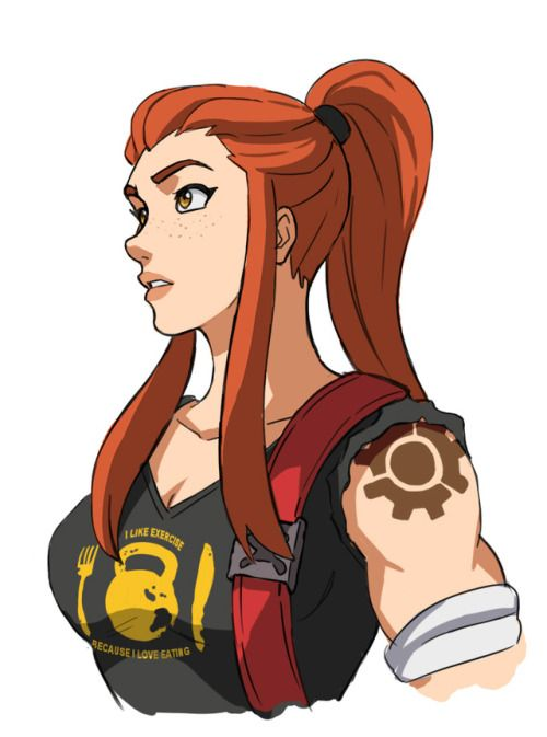 Overwatch Fan Art Overwatch Brigitte Lindholm