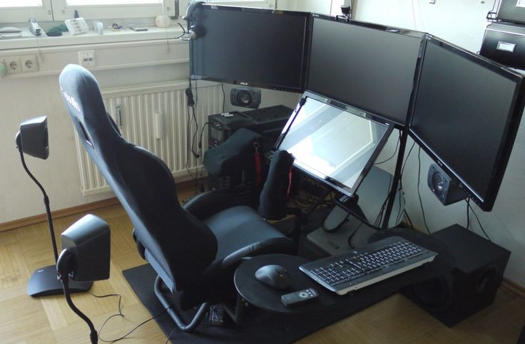Killer Flight Sim Setup Computer Chair Pinterest