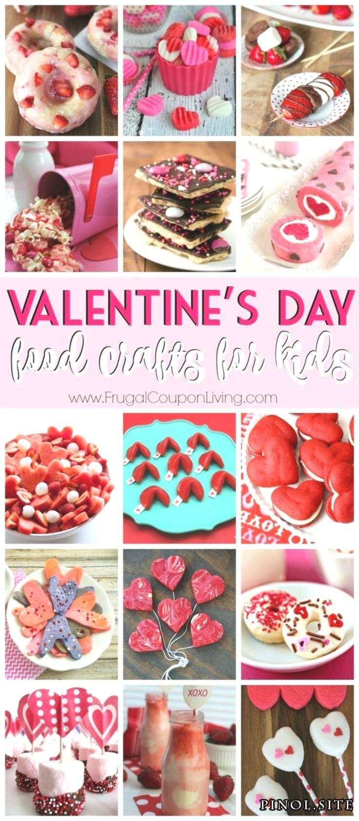 28 Tage Kinder Valentinstag Meals Crafts