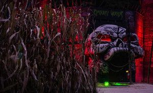 Groupon - Dark Circus Halloween Party Entry for 1, or General Admission for 2 or 4 to Kersey Valley Spookywoods (Up to Half Off) in High Point. Groupon deal price: $29