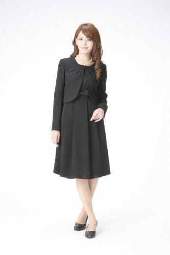 Amazon.co.jp: (マーガレット)marguerite m426 ブラックフォーマル レディース アンサンブル 礼服: 服&ファッション小物